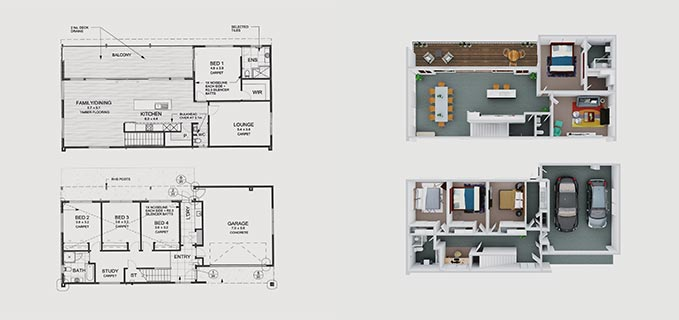 Boxbrownie Com Floor Plan Redraw Service