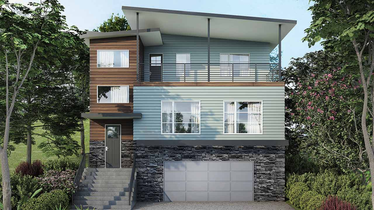 Single Storey Render