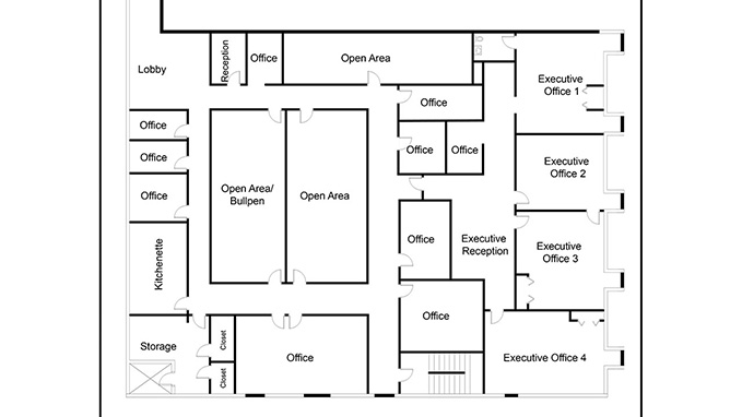 Boxbrownie Com Commercial Floor Plan Redraw Service