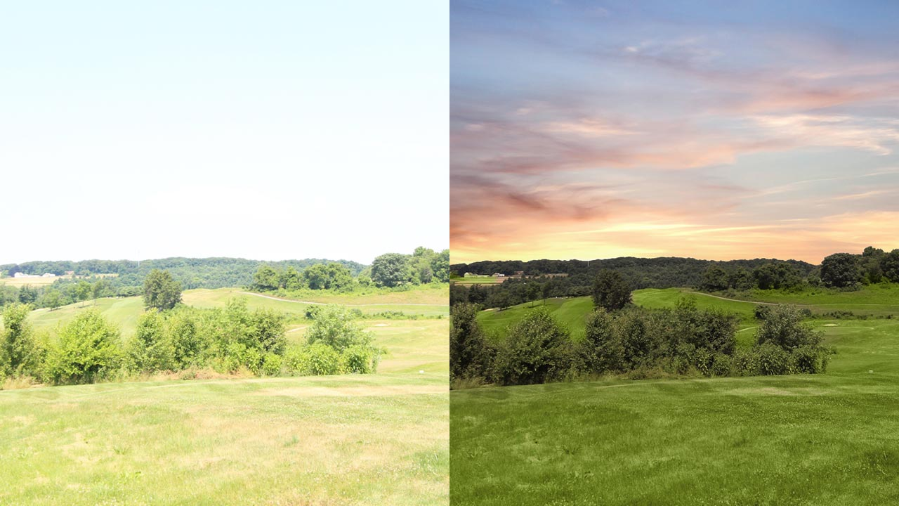 Day to Dusk – before and after