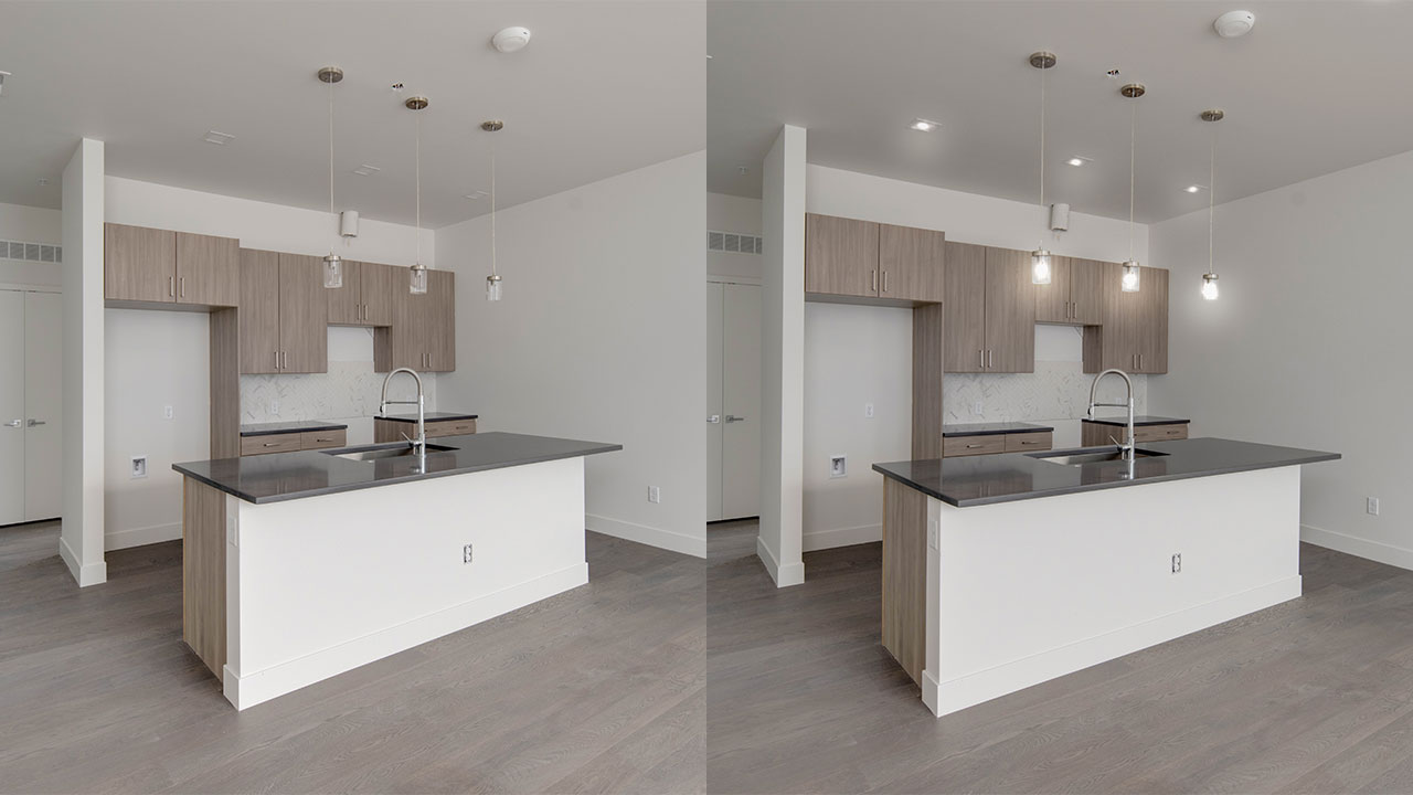 Image Enhancement – before and after