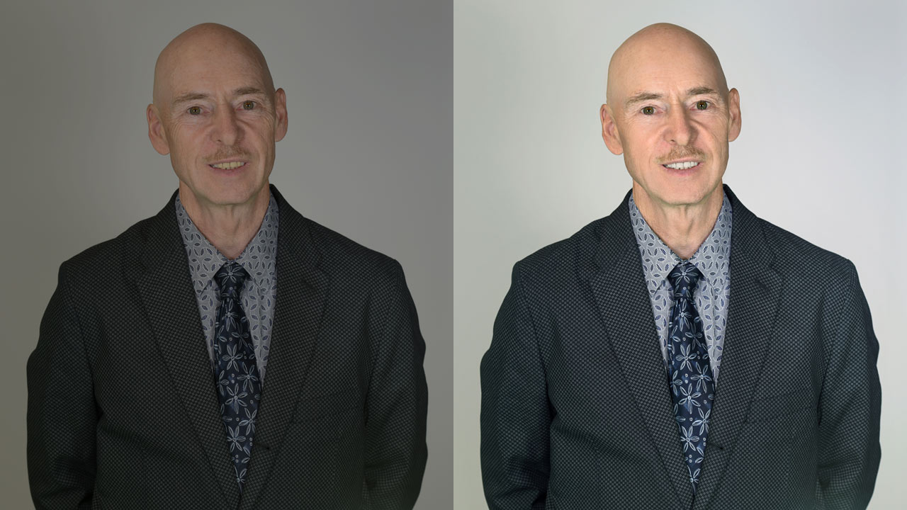 Portrait Retouching – before and after