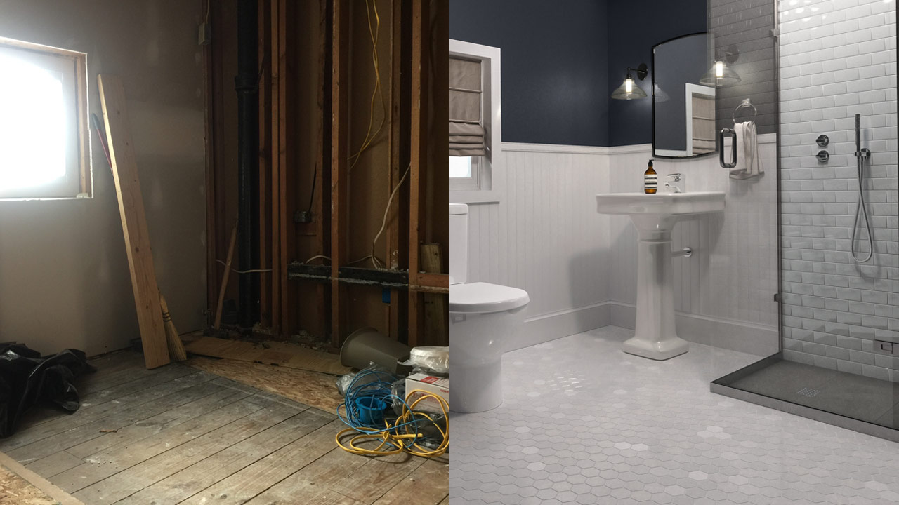Virtual Renovation – before and after